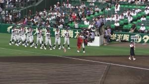 「第97回全国高校野球選手権大会」を見に行ってきました!(4)~第1日:開会式~(29)