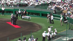 「第97回全国高校野球選手権大会」を見に行ってきました!(5)~第1日:第1試合「鹿児島実VS北海」(上)~(10)
