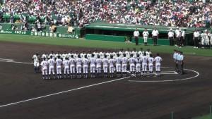 「第97回全国高校野球選手権大会」を見に行ってきました!(5)~第1日:第1試合「鹿児島実VS北海」(上)~(9)