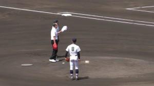 「第97回全国高校野球選手権大会」を見に行ってきました!(5)~第1日:第1試合「鹿児島実VS北海」(上)~(21)