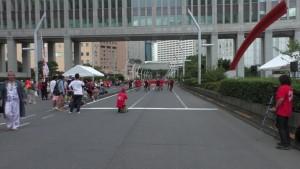 「第2回東京舞祭『秋』」~4日:都庁通り~(2)
