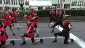 「第2回東京舞祭『秋』」~4日:都庁通り~(3)
