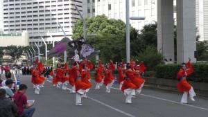 「第2回東京舞祭『秋』」~4日:都庁通り~(4)