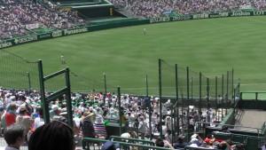 「第97回全国高校野球選手権大会」を見に行ってきました!(5)~第1日:第1試合「鹿児島実VS北海」(下)~(2)