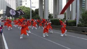 「第2回東京舞祭『秋』」~4日:都庁通り~(5)