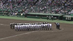「第97回全国高校野球選手権大会」を見に行ってきました!(5)~第1日:第1試合「鹿児島実VS北海」(下)~(10)