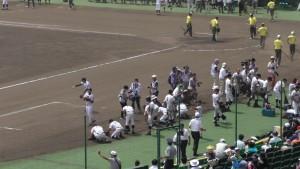「第97回全国高校野球選手権大会」を見に行ってきました!(5)~第1日:第1試合「鹿児島実VS北海」(下)~(13)