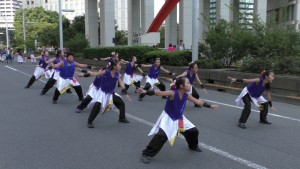 「第2回東京舞祭『秋』」~4日:都庁通り~(8)