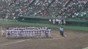 「第97回全国高校野球選手権大会」を見に行ってきました!(6)~第1日:第2試合「岐阜城北VS中京大中京」(下)~(11)