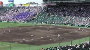 「第97回全国高校野球選手権大会」を見に行ってきました!(9)~第2日:第2試合「霞ケ浦VS広島新庄」(上)~(8)