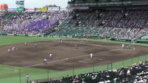 「第97回全国高校野球選手権大会」を見に行ってきました!(9)~第2日:第2試合「霞ケ浦VS広島新庄」(上)~(18)