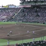 「第97回全国高校野球選手権大会」を見に行ってきました!(10)~第2日:第3試合「九州国際大付VS鳴門」(下)~