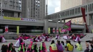 「第2回東京舞祭『秋』」~4日:都庁広場~(1)