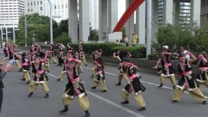 「第2回東京舞祭『秋』」~4日:都庁通り~(9)