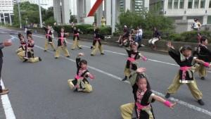 「第2回東京舞祭『秋』」~4日:都庁通り~(10)