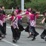 様々な演舞を様々な地点で楽しめた「第2回東京舞祭『秋』」~4日:都庁通り~(3)