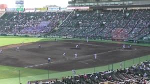 「第97回全国高校野球選手権大会」を見に行ってきました!(11)~第2日:第4試合「東海大甲府VS静岡」(下)~(2)