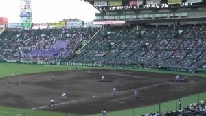 「第97回全国高校野球選手権大会」を見に行ってきました!(11)~第2日:第4試合「東海大甲府VS静岡」(下)~(4)