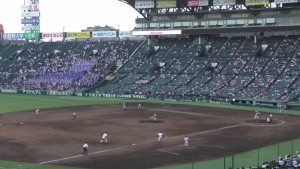 「第97回全国高校野球選手権大会」を見に行ってきました!(11)~第2日:第4試合「東海大甲府VS静岡」(下)~(10)