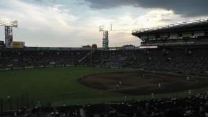 「第97回全国高校野球選手権大会」を見に行ってきました!(11)~第2日:第4試合「東海大甲府VS静岡」(下)~(12)