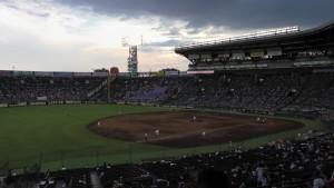 「第97回全国高校野球選手権大会」を見に行ってきました!(11)~第2日:第4試合「東海大甲府VS静岡」(下)~(16)