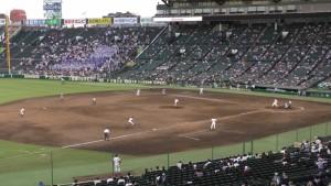 「第97回全国高校野球選手権大会」を見に行ってきました!(11)~第2日:第4試合「東海大甲府VS静岡」(下)~(18)