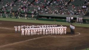 「第97回全国高校野球選手権大会」を見に行ってきました!(11)~第2日:第4試合「東海大甲府VS静岡」(下)~(21)