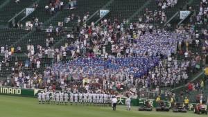 「第97回全国高校野球選手権大会」を見に行ってきました!(11)~第2日:第4試合「東海大甲府VS静岡」(下)~(24)