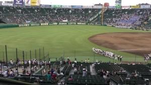 「第97回全国高校野球選手権大会」を見に行ってきました!(11)~第2日:第4試合「東海大甲府VS静岡」(下)~(25)