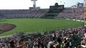 「第97回全国高校野球選手権大会」を見に行ってきました!(12)~第3日:第1試合「早稲田実VS今治西」(上)~(10)