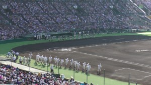 「第97回全国高校野球選手権大会」を見に行ってきました!(12)~第3日:第1試合「早稲田実VS今治西」(上)~(7)