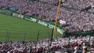 「第97回全国高校野球選手権大会」を見に行ってきました!(12)~第3日:第1試合「早稲田実VS今治西」(上)~(18)
