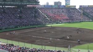 「第97回全国高校野球選手権大会」を見に行ってきました!(12)~第3日:第1試合「早稲田実VS今治西」(上)~(24)