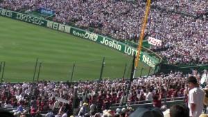 「第97回全国高校野球選手権大会」を見に行ってきました!(12)~第3日:第1試合「早稲田実VS今治西」(上)~(27)