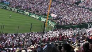 「第97回全国高校野球選手権大会」を見に行ってきました!(12)~第3日:第1試合「早稲田実VS今治西」(上)~(33)