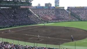 「第97回全国高校野球選手権大会」を見に行ってきました!(12)~第3日:第1試合「早稲田実VS今治西」(上)~(36)