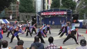 「第16回 東京よさこい」~10月10日:前夜祭:池袋西口公園(上)~(1)16