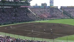 「第97回全国高校野球選手権大会」を見に行ってきました!(12)~第3日:第1試合「早稲田実VS今治西」(上)~(37)