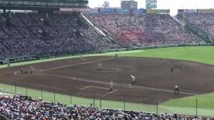 「第97回全国高校野球選手権大会」を見に行ってきました!(12)~第3日:第1試合「早稲田実VS今治西」(上)~(40)
