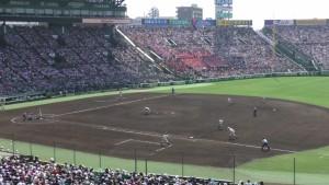 「第97回全国高校野球選手権大会」を見に行ってきました!(12)~第3日:第1試合「早稲田実VS今治西」(上)~(42)