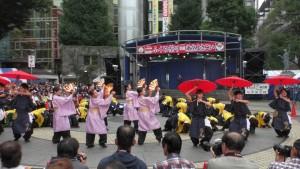 「第16回 東京よさこい」~10月10日:前夜祭:池袋西口公園(下)~(2)1