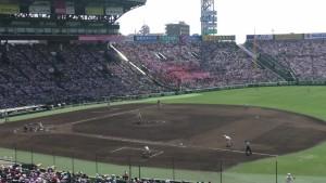 「第97回全国高校野球選手権大会」を見に行ってきました!(12)~第3日:第1試合「早稲田実VS今治西」(下)~(1)