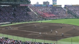 「第97回全国高校野球選手権大会」を見に行ってきました!(12)~第3日:第1試合「早稲田実VS今治西」(下)~(3)
