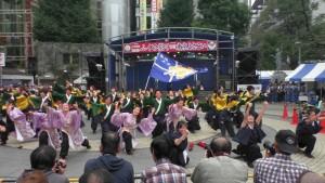 「第16回 東京よさこい」~10月10日:前夜祭:池袋西口公園(下)~(2)2