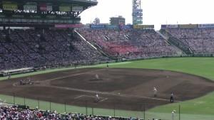 「第97回全国高校野球選手権大会」を見に行ってきました!(12)~第3日:第1試合「早稲田実VS今治西」(下)~(6)