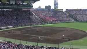 「第97回全国高校野球選手権大会」を見に行ってきました!(12)~第3日:第1試合「早稲田実VS今治西」(下)~(7)