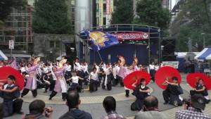 「第16回 東京よさこい」~10月10日:前夜祭:池袋西口公園(下)~(2)3