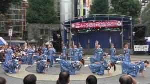 「第16回 東京よさこい」~10月10日:前夜祭:池袋西口公園(下)~(2)4