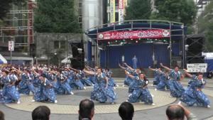 「第16回 東京よさこい」~10月10日:前夜祭:池袋西口公園(下)~(2)5