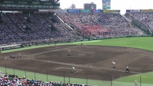 「第97回全国高校野球選手権大会」を見に行ってきました!(12)~第3日:第1試合「早稲田実VS今治西」(下)~(13)